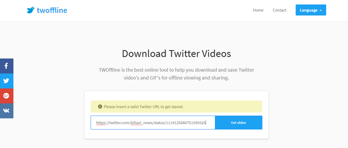 Best Way To Download Twitter Videos in Single Click